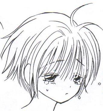 Comment dessiner des mangas expression de tristesse - Dessins triste ...