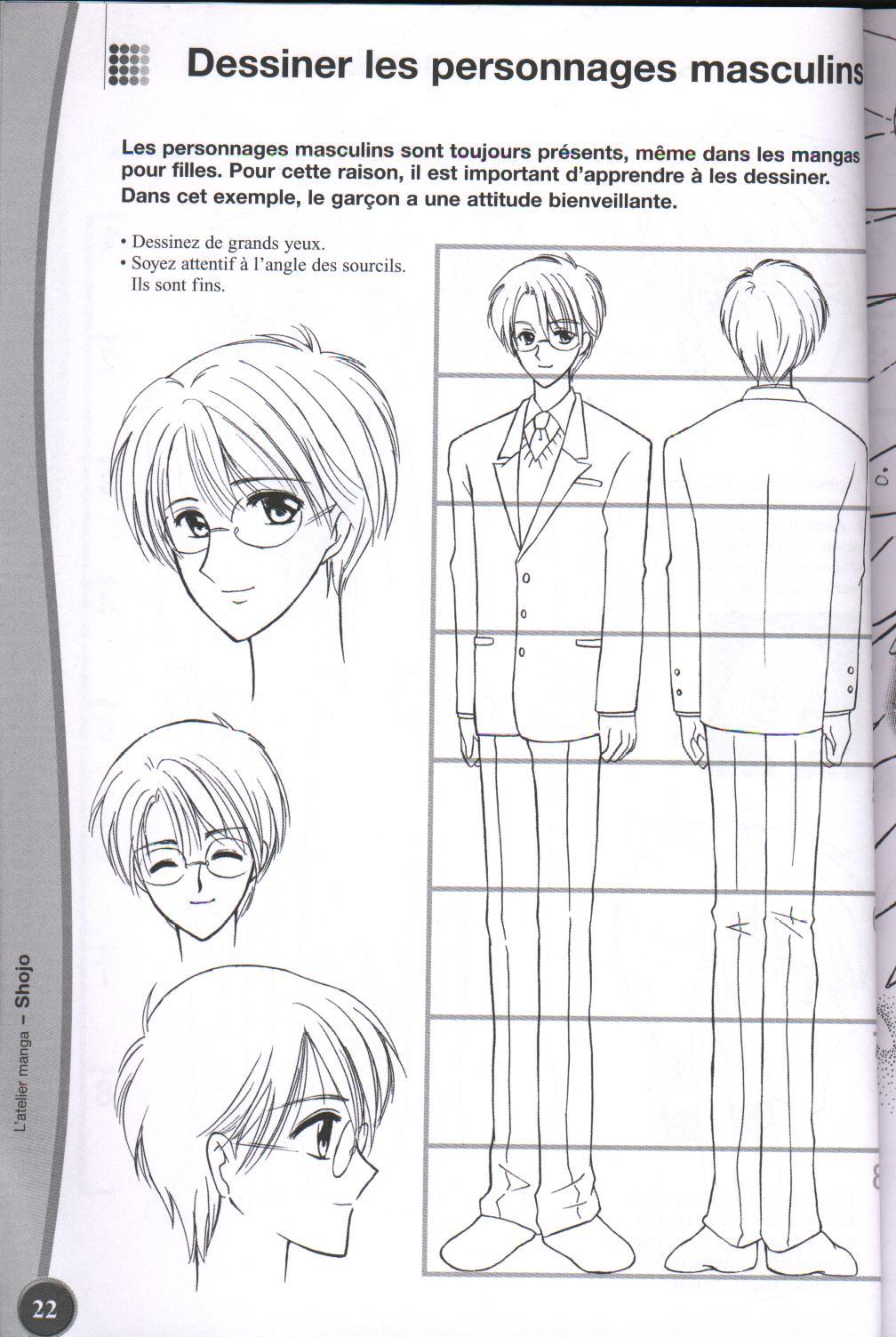 Comment dessiner des mangas partie du corps - Dessiner fille manga ...