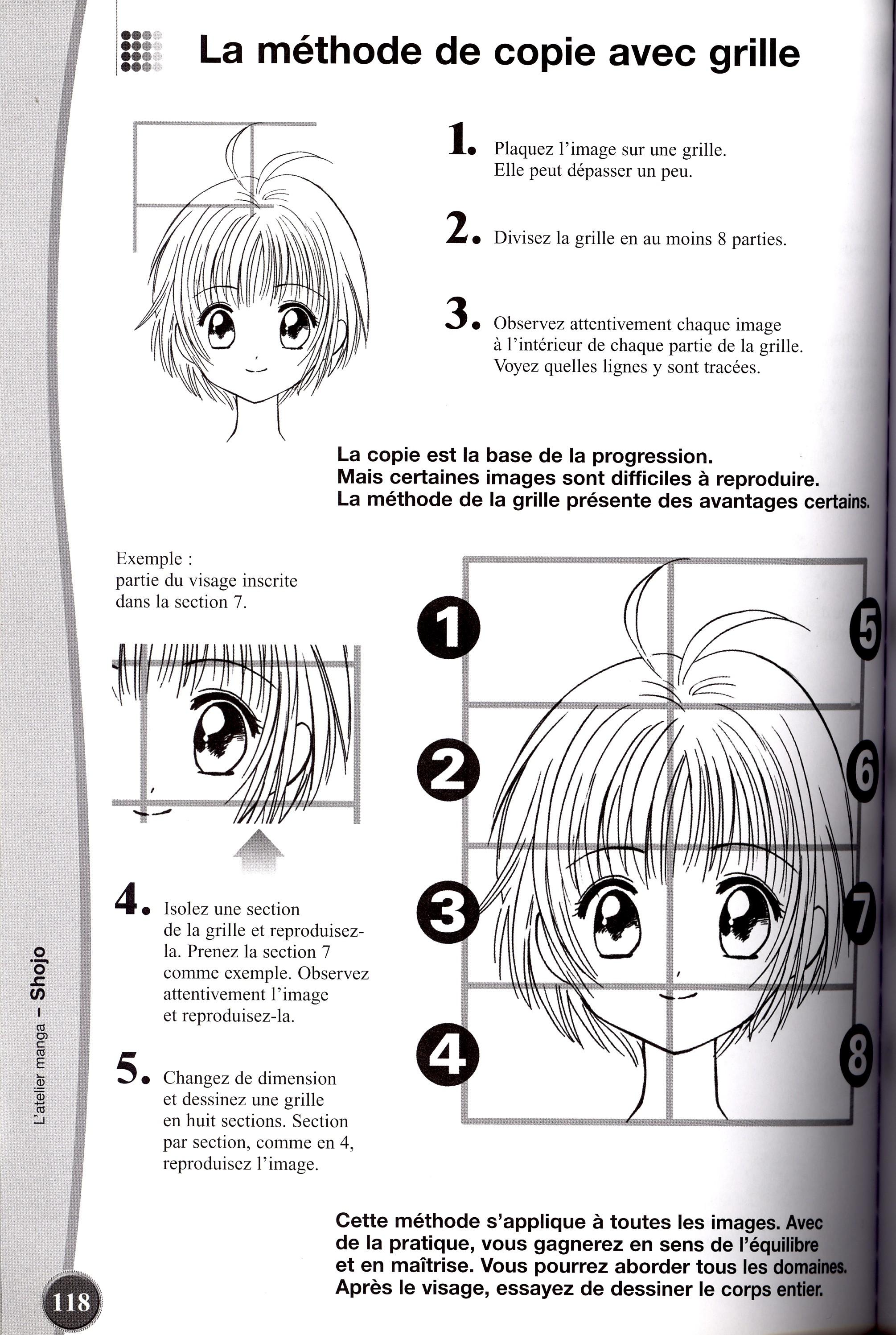 Comment dessiner des mangas partie du corps - Comment dessiner un but de foot ...